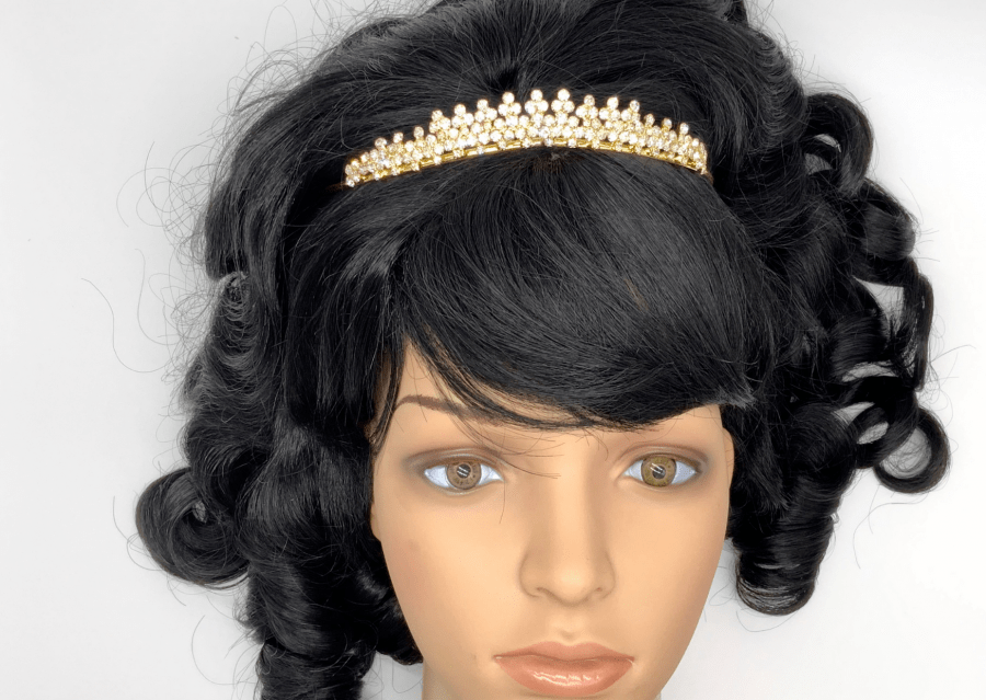 gouden prinsessenkroontje