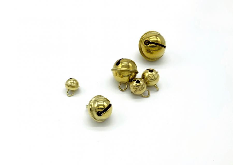 Belletjes goud metaal